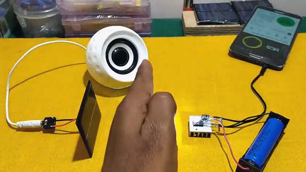 ساخت مدار جالب انتقال صدا از طریق نور مرئی